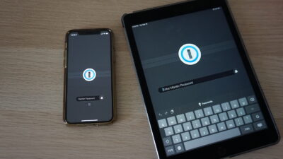 1Password Tablet and iPhone