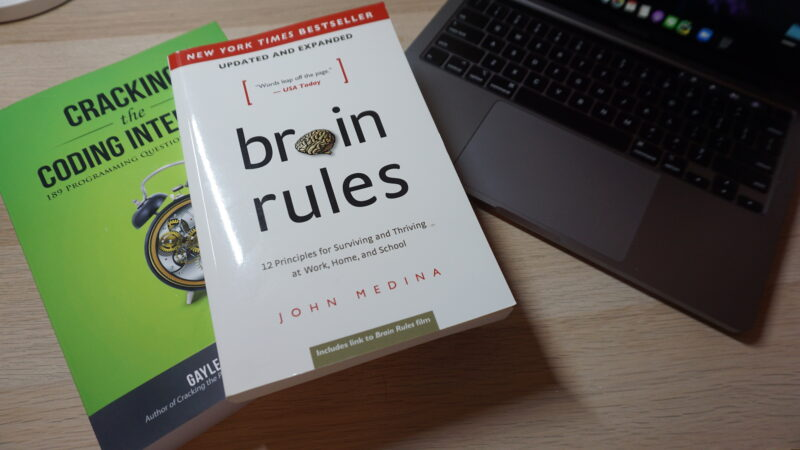 Brain Rules and Cracking the Coding Interview